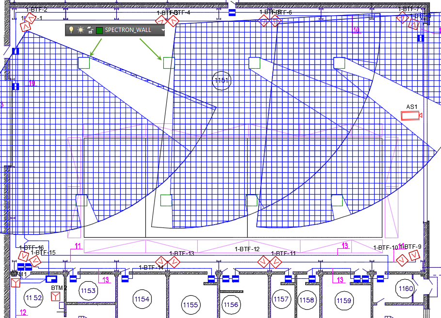 Obstruction addon for cad system