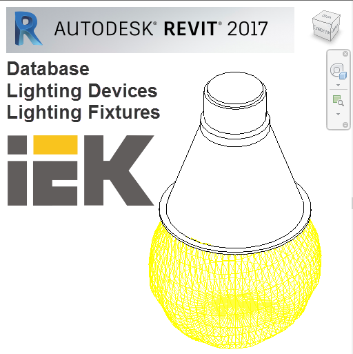 Library of lighting devices and fixtures for Autodesk Revit
