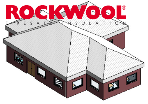 Application for AutoCAD 'ROCKWOOL ROOFUklon'