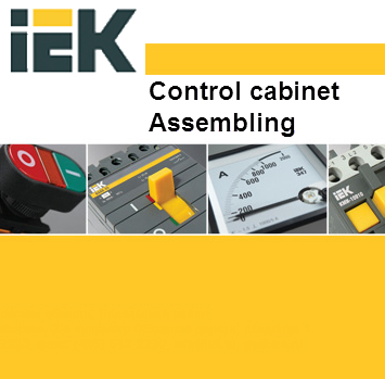 Control cabinet assembling
